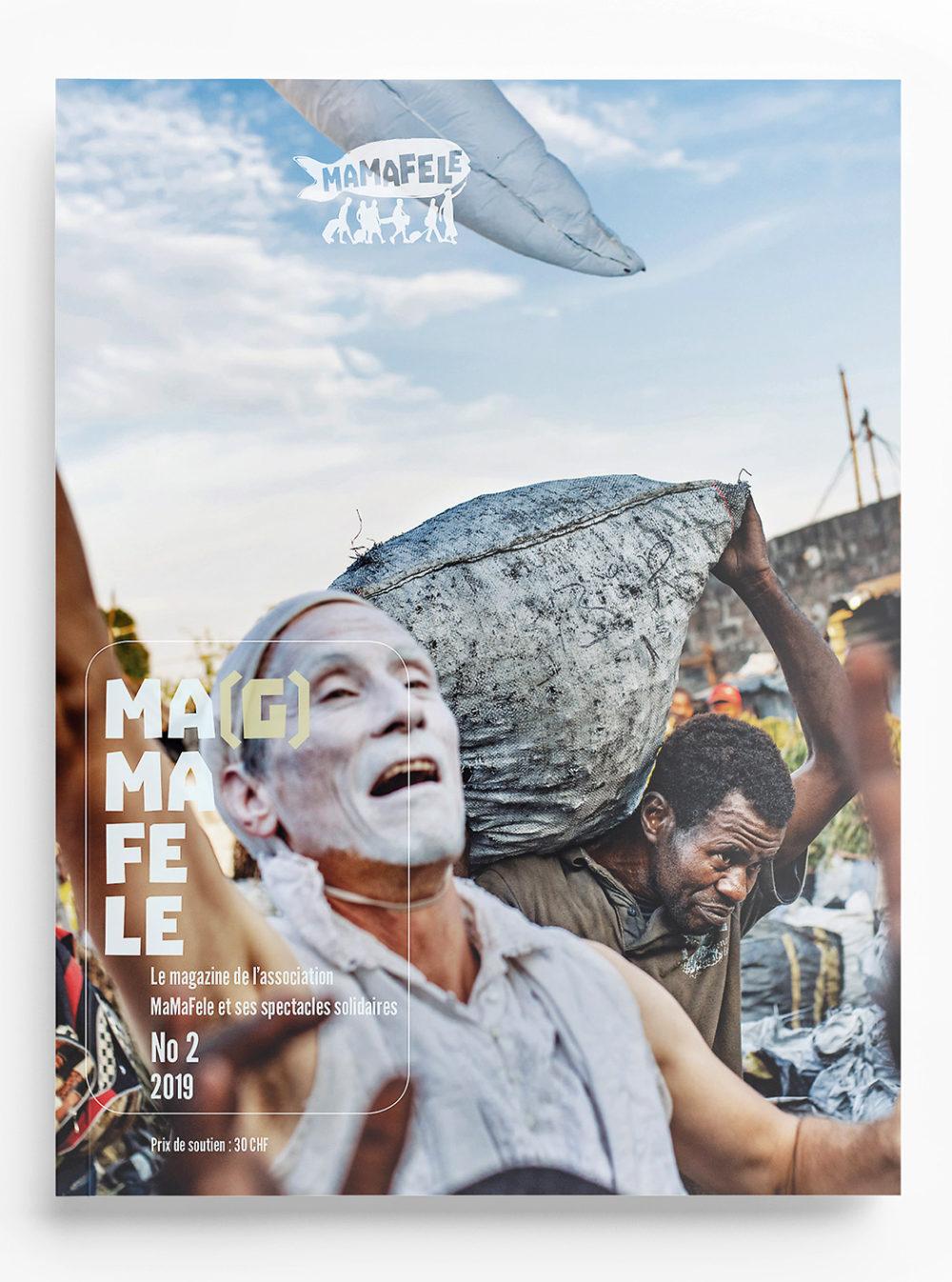 cover du magazine magmafele